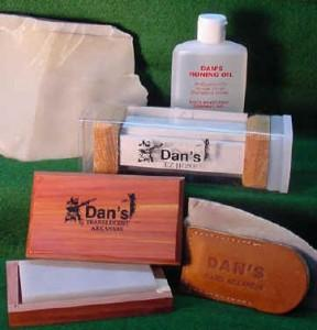 Dan's whetstone products